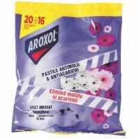Pastile parfumate antimolii Aroxol, 20 buc / pachet