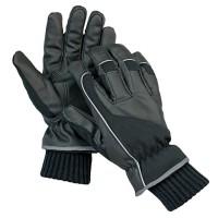 Manusi pentru protectie DCT Arta, poliester + fibre textile, marimea 10, negre