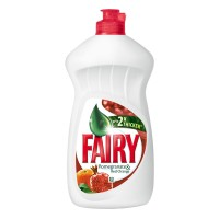 Detergent lichid pentru vase Fairy, aroma rodii si portocale rosii, 450 ml