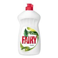 Detergent lichid pentru vase Fairy, aroma mar, 450 ml