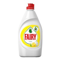 Detergent lichid pentru vase Fairy, aroma lamaie, 450 ml