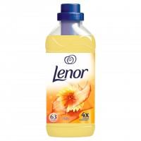 Balsam de rufe Lenor Summer Breeze, parfum floral, mosc alb si lemn de santal, 1.9 L