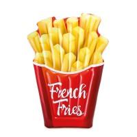 Placa gonflabila pentru inot, Intex 58775, french fries, vinil, 175 x 132 cm