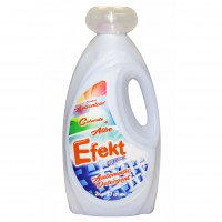 Detergent pentru rufe albe si colorate, lichid, Efekt, 1.85L