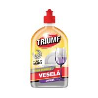 Detergent lichid pentru vase Triumf, aroma lavanda, 500 ml