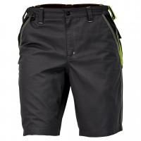 Pantaloni scurti pentru protectie Knoxfield, bumbac + poliester, gri-galben, marimea 54