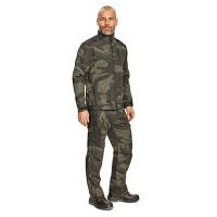 Pantaloni pentru protectie Crambe, bumbac + poliester, camuflaj, marimea M