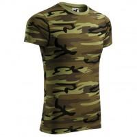 Tricou Camouflage, bumbac, camuflaj, marimea M