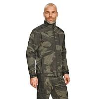 Jacheta de protectie Cerva Crambe Softshell, poliester, camuflaj, marimea XXL