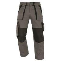 Pantaloni pentru protectie Athos, bumbac, gri-negru, marimea 52
