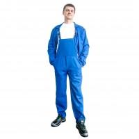 Costum de protectie DCT Simo, doc 240 g/mp, albastru, 48