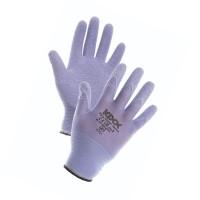 Manusi pentru gradina Marvel Very, nylon + latex, violet, marimea 8