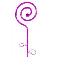 Stick pentru sprijinire orhidee, plastic, decor spirala, ametist