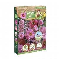 Amestec seminte flori Micul Gradinar, gradina roz, 250 g
