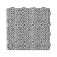 Dala pentru terasa, polipropilena, exterior, perforata, cu model, stone grey, 1 mp/pac