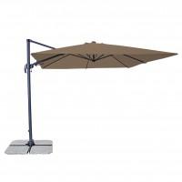 Umbrela soare, pentru terasa, Ravena, patrata, structura aluminiu-cantilever, 275 x 275 cm