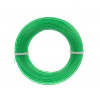 Fir motocoasa Trimmy Oregon, profil rotund, PVC, 1.3 mm x 15 m, verde