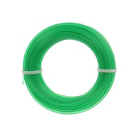 Fir motocoasa Trimmy Oregon, profil rotund, PVC, 1.7 mm x 15 m, verde