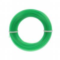 Fir motocoasa Trimmy Oregon, profil rotund, PVC, 2.0 mm x 15 m, verde