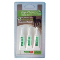 Pipeta antiparazitara Pilou, pentru caini de talie medie, 3 x 3 ml