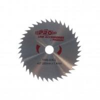 Disc motocoasa pentru tuns iarba, Prorun, otel, 40 dinti, D 200 mm