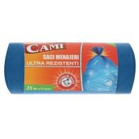 Saci menajeri ultra rezistenti Cami, 35L, 15 buc