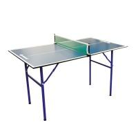 Masa pentru tenis 838579 Midi XL, pentru interior, 120 x 70 x 68 cm + fileu