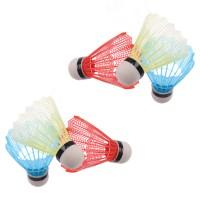 Fluturi pentru badminton, PVC, set 6 buc