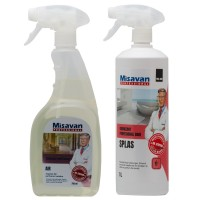 Odorizant baie profesional Dr. Stephan Splas spray 1L + odorizant camera profesional Dr. Stephan Air spray 750 ml