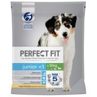 Hrana uscata pentru caini Perfect Fit, junior, aroma pui, 1.4 kg