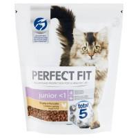 Hrana uscata pentru pisici, Perfect Fit Junior, junior, carne de pui, 750g