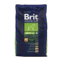 Hrana uscata pentru caini Brit Premium, adult XL, carne de pui, 3 kg