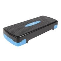 Stepper pentru aerobic Qizo, reglabil, 67 x 27 x 10/15 cm