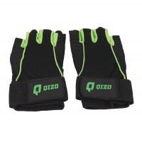 Manusi pentru fitness Qizo Confort, polyester + microfibra