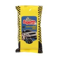 Servetele umede pentru parbriz Expertto auto, set 40 bucati