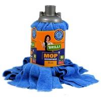 Rezerva mop microfibra Brilli, marimea L, albastru