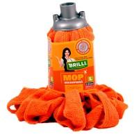 Rezerva mop microfibra Brilli, marimea L, orange