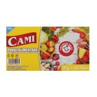 Pungi alimentare Cami, 1 kg, 50 buc / set