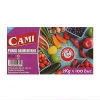 Pungi alimentare Cami, 2 kg, 100 buc / set