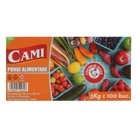 Pungi alimentare Cami, 3 kg, 100 buc / set