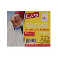 Sacose groase Cami, 51 microni, 8-10 kg, 25 buc / set