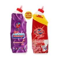 Dezinfectant gel Efekt Violet 750 ml + Detartrant gel Efekt Red 750 ml