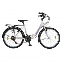 Bicicleta Velors City R2432A, 24 inch