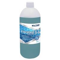 Floculant Power Max 3 in 1, Kloer, lichid, pentru apa piscina, 1L