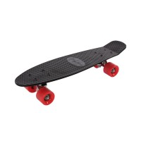 Skateboard Chase Maxtar, plastic, negru, 56 x 15 cm
