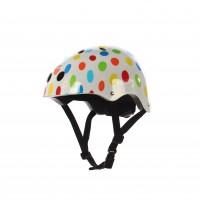 Casca protectie, pentru copii, Maxtar Rainbow, cu adaptor, pentru bicicleta, 54 - 60 cm
