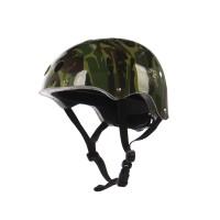 Casca protectie, pentru copii, Maxtar Camuflaj, cu adaptor, pentru bicicleta, 54 - 60 cm