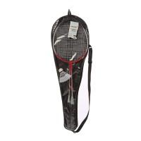 Racheta badminton, set 2 buc + 1 fluturas