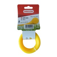 Fir motocoasa Trimmy Oregon, profil rotund, PVC, 2.0 mm x 15 m