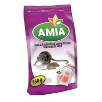 Momeala pasta pentru combatere soareci / sobolani, Amia, 150 g